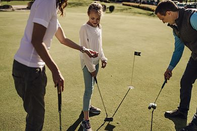 First-class golf courses in Kitzbühel invite you to play golf