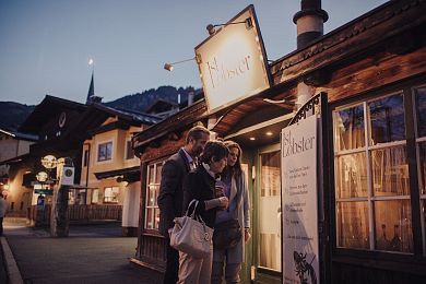 Kitzbühel's gourmet restaurants invite you after the evening walk